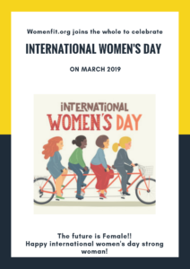 The world celebrates: International women's day 2019.