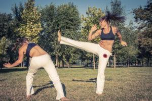 Learning The Art Of Brazili Jjiu-Jitsu For Women.