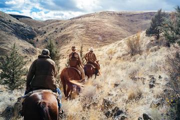 Health Benefits of Horseback Riding on Beautiful California Mountain in winter